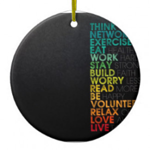 Famous Quotes Christmas Tree Ornaments
