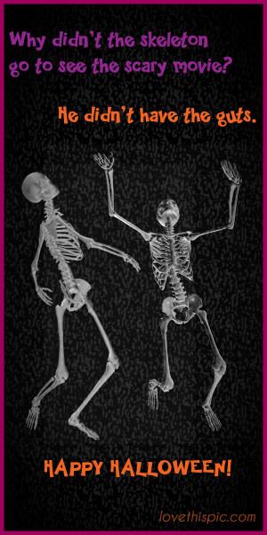Funny Skeleton Quotes