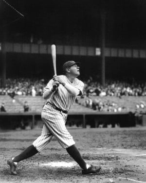 Labels: Babe Ruth , Baseball Legend