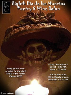 8th DIA DE LOS MUERTOS Poetry & Wine Salon