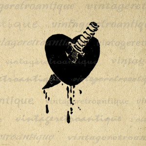 Broken Hearts With Knife Heart with knife download