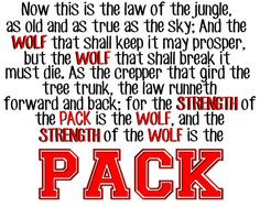 Wolf Pack Family Quotes Ncsu wolf pack poster