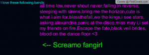screamo music quotes