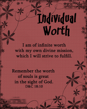 ... larger if you needed to individual worth doc individual worth pdf