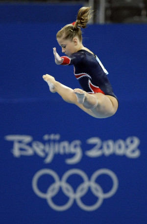 The Olympics Shawn Johnson