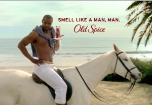 Isaiah Mustafa Is On A Horse, But NOT For Old Spice