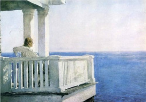 Looking South' by Jamie Wyeth