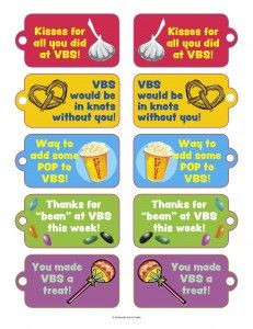 vbs volunteer thank you candy snack tags more vbs volunteers thank you ...