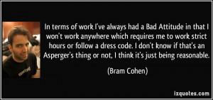 Bad Work Attitude Quotes