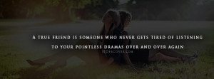 friendship quotes for facebook cover true friends facebook covers if ...