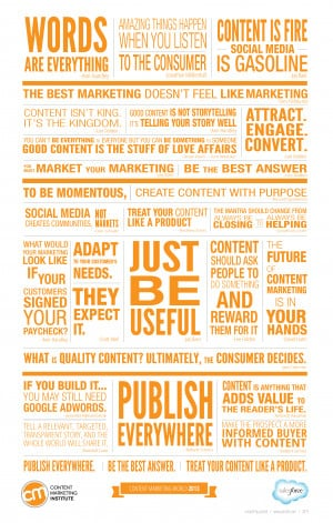 The Top 16 Content Marketing Quotes from #CMWorld 2013