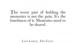 ... lowry apr 18 2014 # the giver # lois lowry # young adult # book quotes