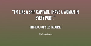 Ship Captain Quotes