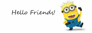 Minion Hello Friends facebook covers