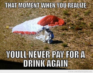 Funny Picture - That moment when you realize you will neer pay for a ...
