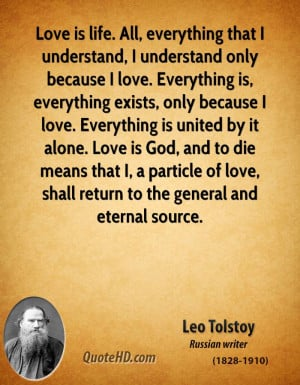Leo Tolstoy Quotes