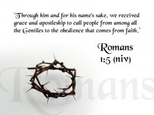 25 26 niv romans 1 5 niv bible quote wallpaper
