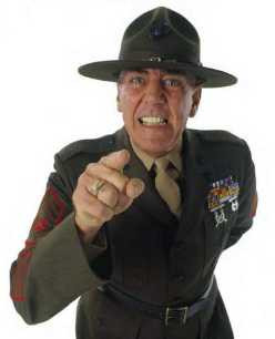 am Gunnery Sergeant Hartman, your senior drill instructor.