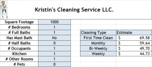 Kristin's Cleaning Service LLC ®
