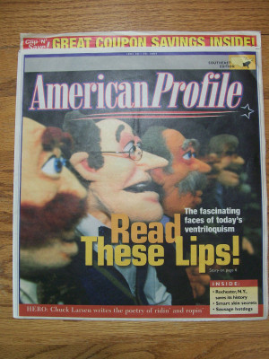 AMERICAN PROFILE MAGAZINE , June 2026, 2004.