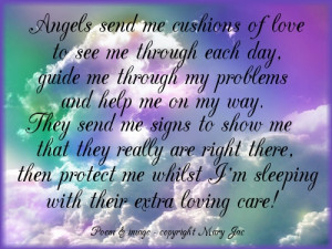selection of Angel Blessings & Poemswith beautiful images - Page 1