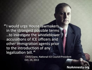 ... Investigate Whistleblower Accusations at ICE Before Immigration Reform