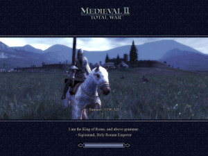 Medieval II: Total War Windows Best.Quote.Ever.