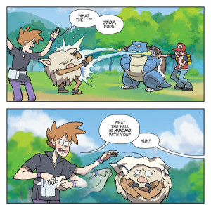 LOL red gaming pokemon wtf comics gary oak Dorkly blastoise
