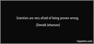 More Donald Johanson Quotes