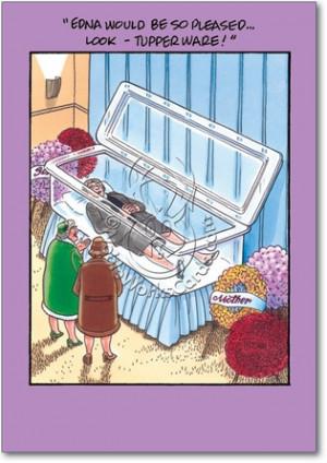 Rubbermaid Funeral Tupperware Casket Blank Humorous Picture All ...