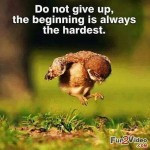 funny inspirational quotes about not giving up