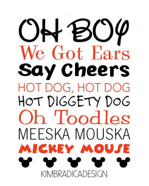Mickey Mouse Clubhouse Sayings