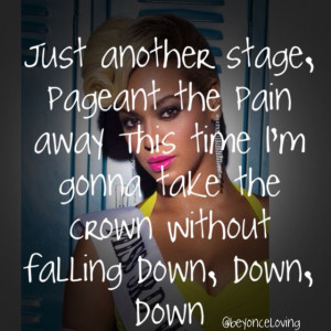 Beyonce Pretty Hurts Quotes Beyonce - pretty hurts song