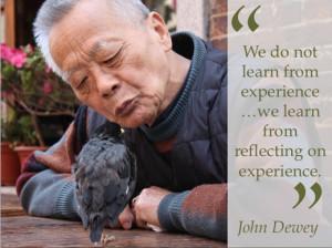 John Dewey Experience Quote