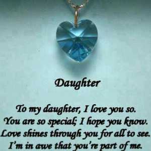 Missing Mom Quotes From Daughter My daughter i love you so