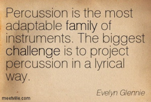 Percussion Is The Most Adaptable Family Of Instruments - Challenge ...