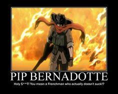 Pip Bernadotte More