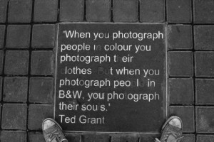 black and white, quote, soul, text