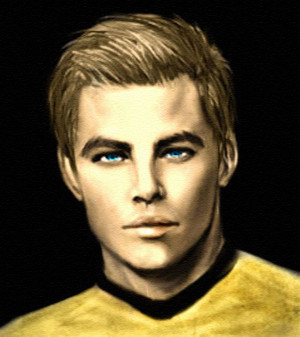 Captain James Kirk Harinezumi