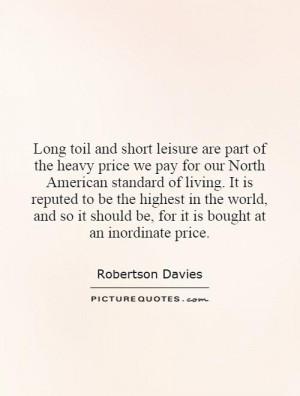 Robertson Davies Quotes | Robertson Davies Sayings | Robertson ...