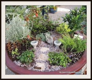 DIY fairy garden, super cute