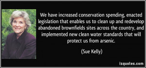 More Sue Kelly Quotes