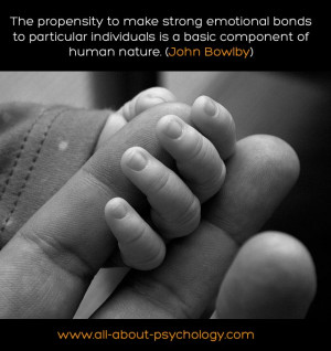Wonderful quote by John Bowlby the eminent psychologist who along with ...