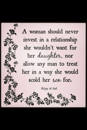 woman's worth.