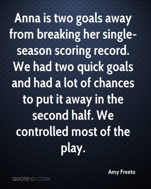 Quotes About Breaking Records