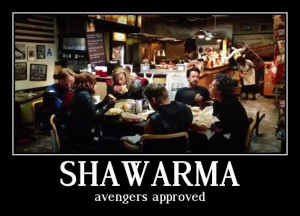Avengers' Shawarma Scene Is Boosting Local Restaurant Business, Says ...