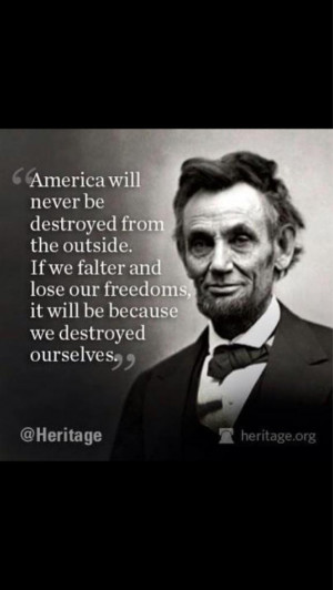 Abraham Lincoln Quotations On Education