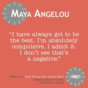 Wise woman! #quotes #quote #mayaangelou #angelou #best #compulsive # ...