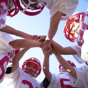 Football Team 300x300 Football Team Huddle