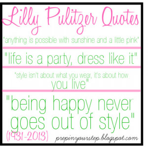 Lilly Pulitzer Quotes - Polyvore